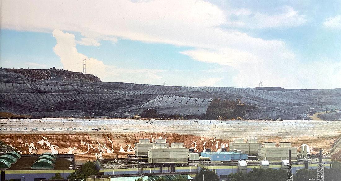 生活垃圾填埋场扩容整改及堆高工程